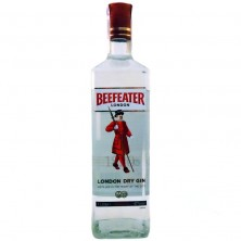 Джин BEEFEATER London Dry Gin (Биффитер Лондон Драй Джин) 1 л