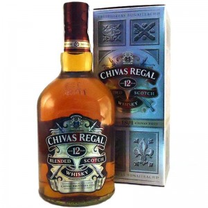 Виски Chivas Regal Aged 12 Years Чивас Регал 12 лет  1 л фото цена