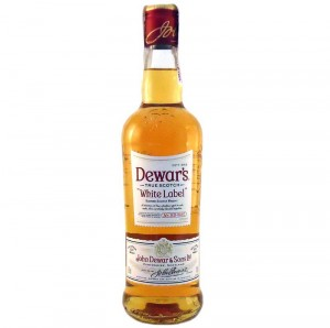 Виски Dewars white Label (Дюарс вайт лейбл) 0,5 л фото цена