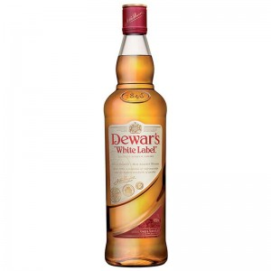 Виски Dewars white Label (Дюарс уайт лейбл) 1 л фото цена