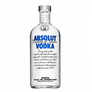 Водка Absolut Vodka Blue Label 0,7 л фото цена