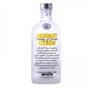 Водка Absolut Vodka, Citron 0,7 фото цена