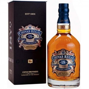 Виски Chivas Regal Aged 18 Years Чивас Регал 18 лет 1л фото цена
