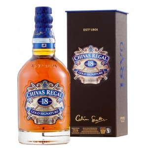 Виски Chivas Regal Aged 18 Years  (Чивас Регал 18 лет) фото цена