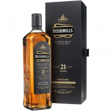 "Виски «Bushmills» 21 ""Years Old"" 0,7 л (0,7)"