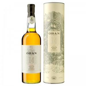 Виски Oban malt 14 years old (Оубен Молт) в тубусе 0,7 л фото цена