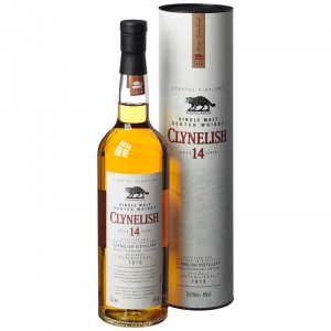 Виски Clynelish 14 Year Old (Клайнелиш) в тубусе 0,7л фото цена