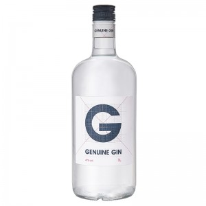 "Джин ""GENUINE GIN"" (ДЖЕНЬЮЕН) (0,7 л) фото цена"