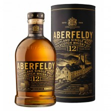 Виски Aberfeldy 12 Years Old (Аберфелди) в тубусе 0,7 л