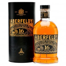 Виски Aberfeldy 16 Years Old (Аберфелди) в тубусе 0,7 л
