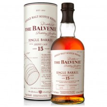"Виски ""Balvenie"" Single Barrel Sherry Cask 15 Old в тубусе 0,7 л."