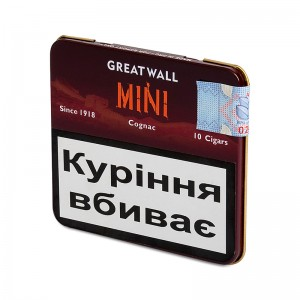 Сигариллы Greatwall Mini Sweet Cognac (Грейтволл Коньяк) 10 шт фото цена