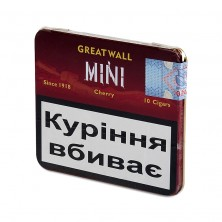 Сигариллы Greatwall Mini Cherry (Грейтволл Вишня) 10 шт