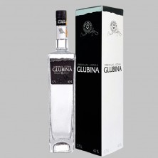 Горілка Glubina black в коробці 0,75 л