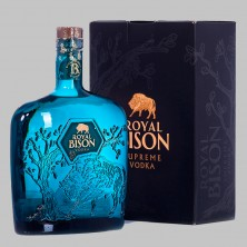 Горілка Royal Bison в коробці 0,7 л